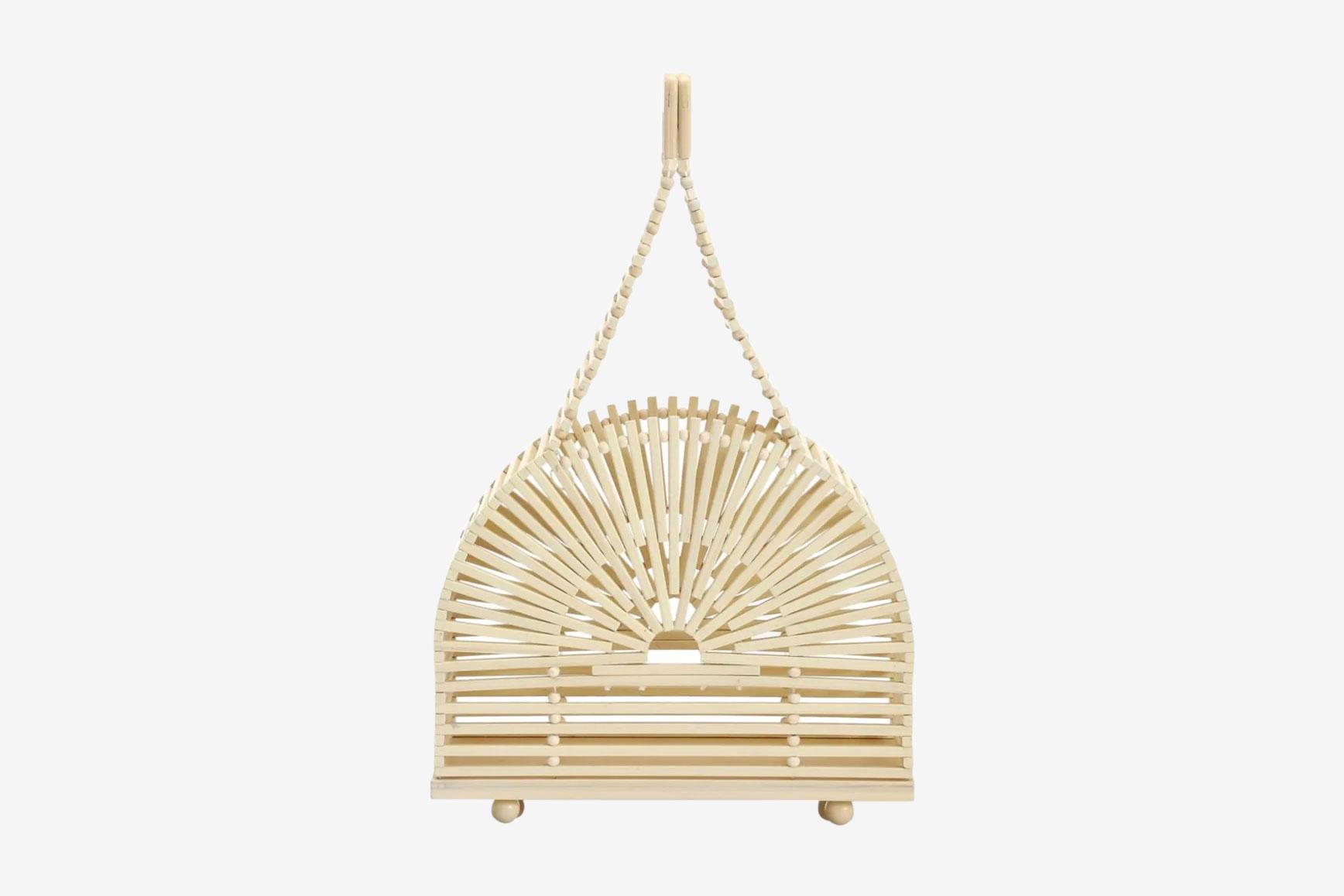 Cult Gaia Cupola Bamboo Bag