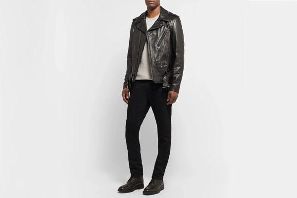 Schott 50s Perfecto Leather Biker Jacket