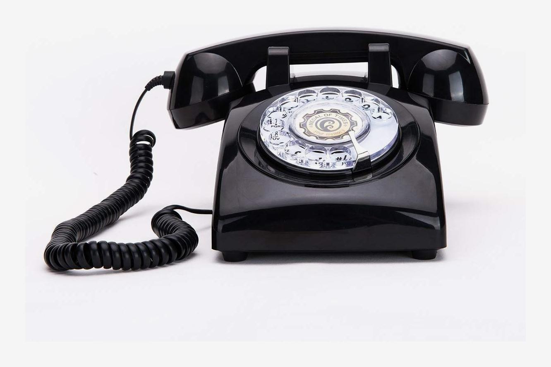 Sangyn 1960s Rotary-Dial Landline Desk Telephone