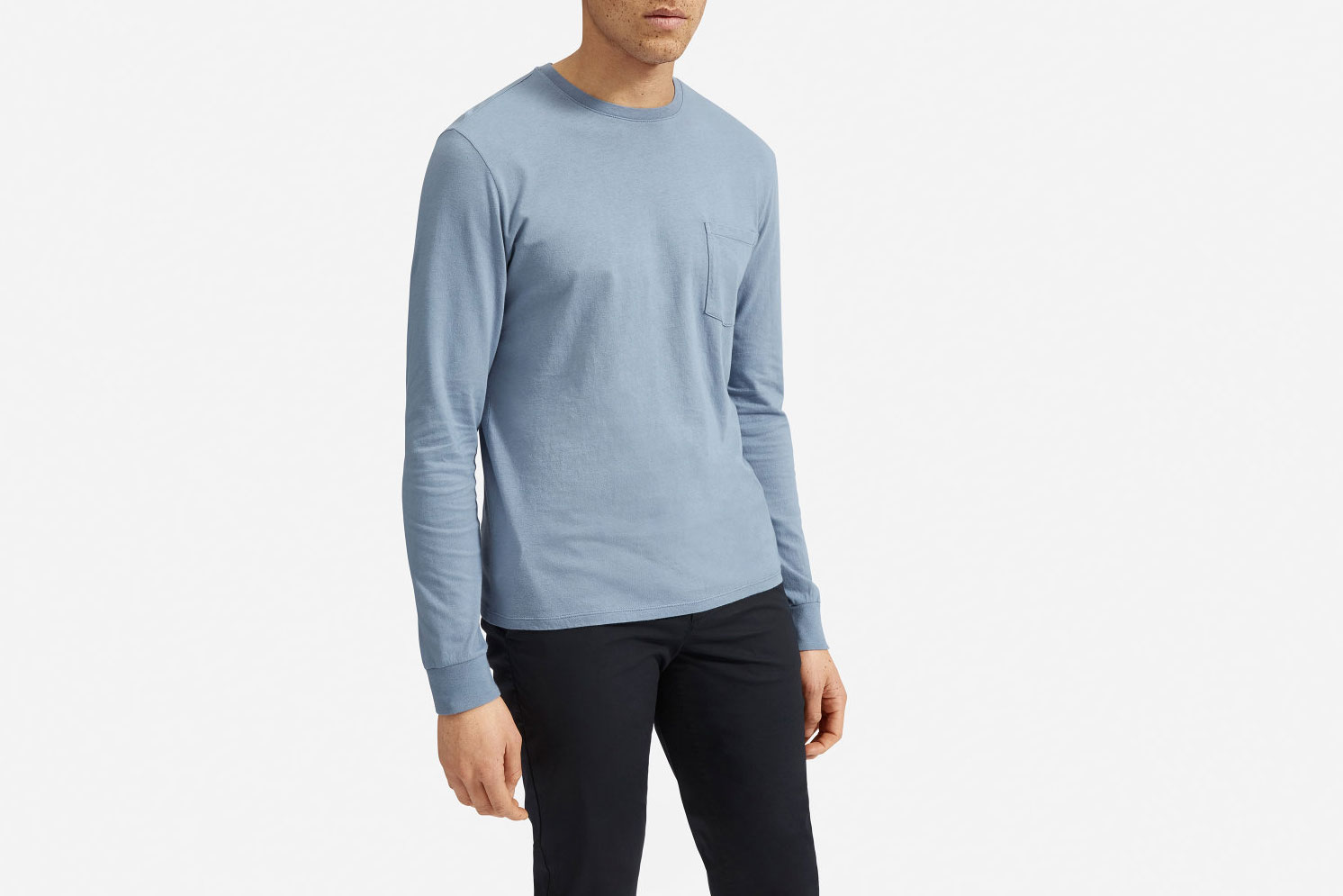 Everlane Cotton Long-Sleeved Crew
