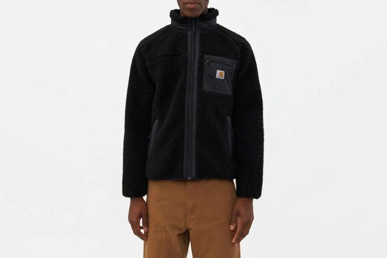 Carhartt WIP Prentis Fleece Liner in Black