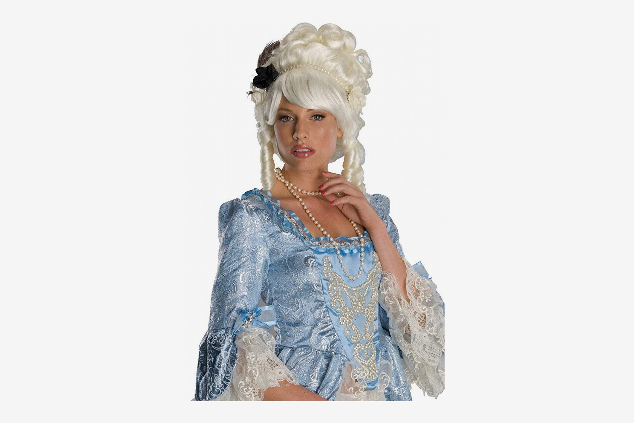 Rubie's Costume Marie Antoinette Wig with Black Rose