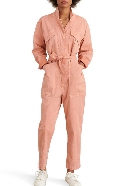Alex Mill Expedition Twill Jumpsuit (City Pink)