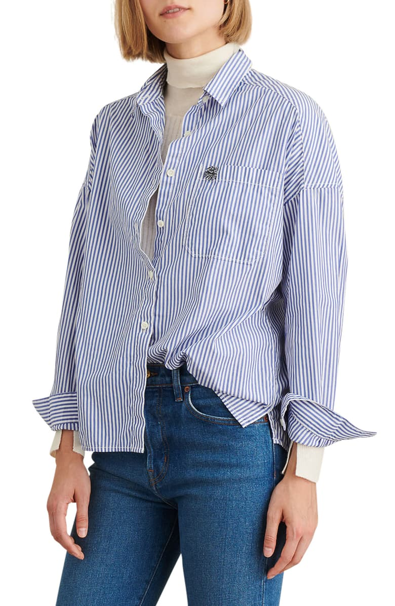 Alex Mill Oversize Stripe Shirt
