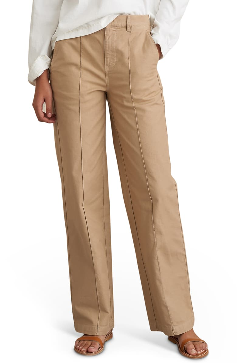 Alex Mill Stretch Cotton Twill Trousers
