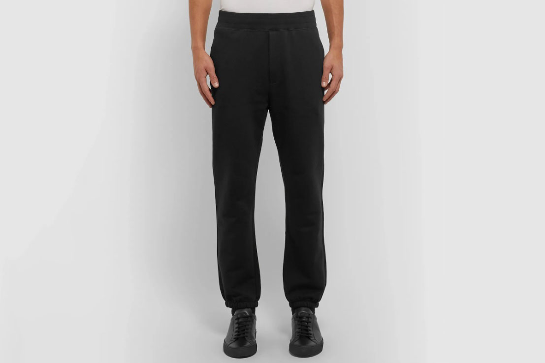 The Row Olin Cotton-Jersey Sweatpants