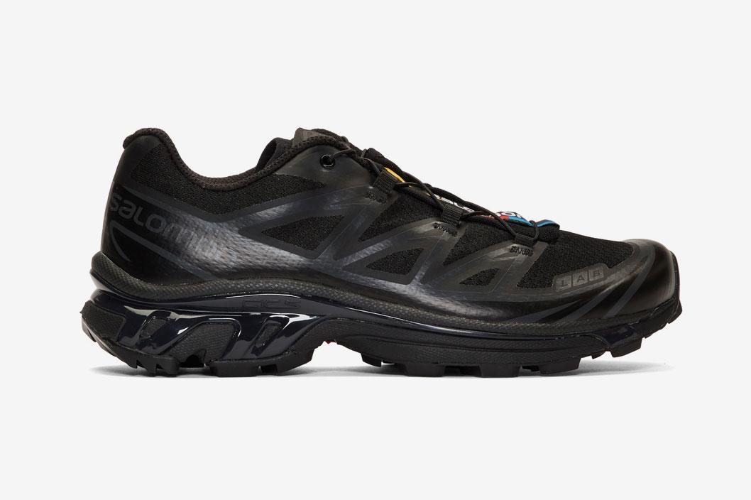 Salomon Black Limited Edition S/Lab XT-6 Softground LT ADV Sneakers