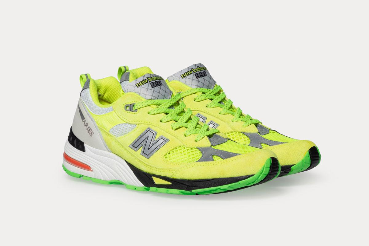 Aries x New Balance 991 Sneakers