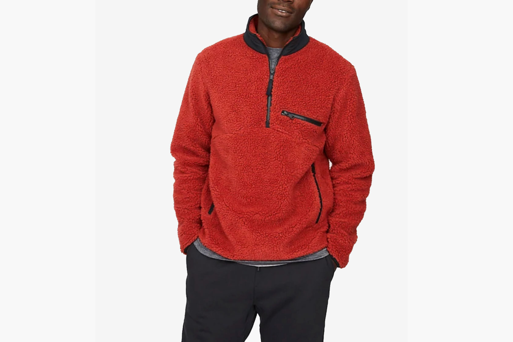 Hill City High Pile Pullover
