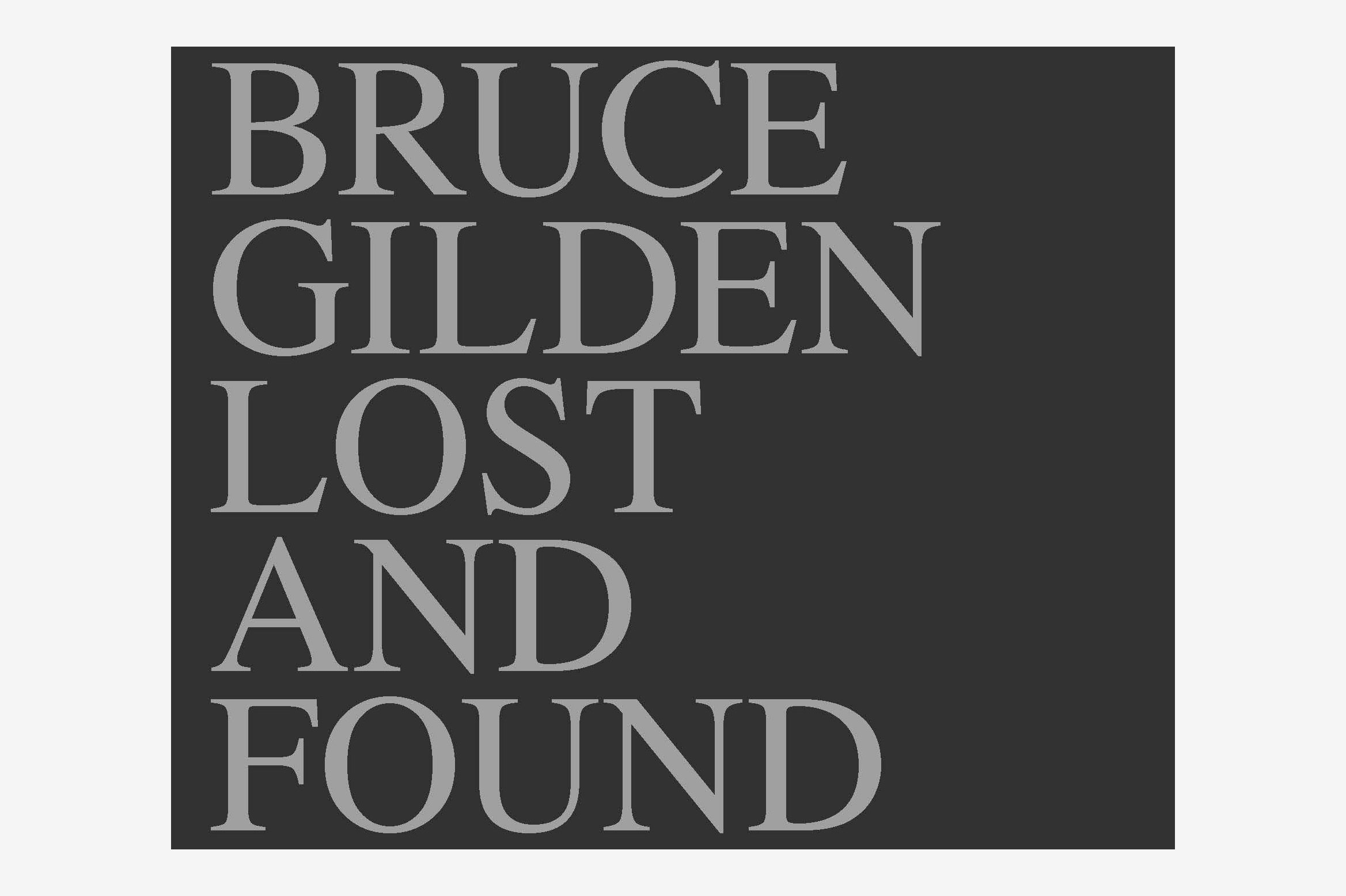 Lost and Found by Sophie Darmaillacq and Bruce Gilden