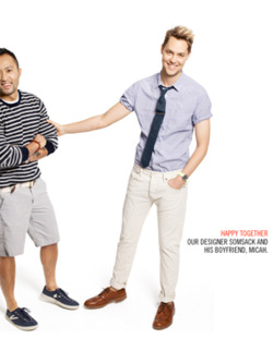 J.Crew Dares to Photograph a Gay Couple Under the Headline 'Happy Together' for a New Catalogue
