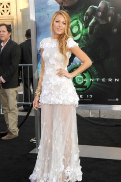 Blake Lively Covers Up With Chanel Couture