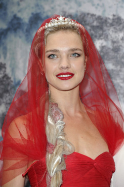CRESPIERES, FRANCE - JULY 06:  Natalia Vodianova  attends 'The White Fairy Tale Love Ball' in Support Of 'The Naked Heart Foundation' at Chateau De Wideville on July 6, 2011 in Crespieres, France.  (Photo by Pascal Le Segretain/Getty Images)