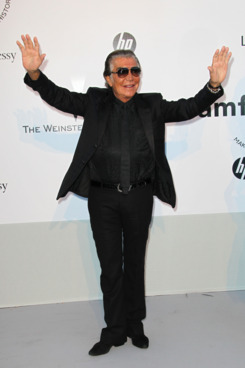 ANTIBES, FRANCE - MAY 19:  Roberto Cavalli arrives at amfAR's Cinema Against AIDS Gala 2011 at Hotel Du Cap on May 19, 2011 in Antibes, France.  (Photo by Tony Barson/WireImage)
