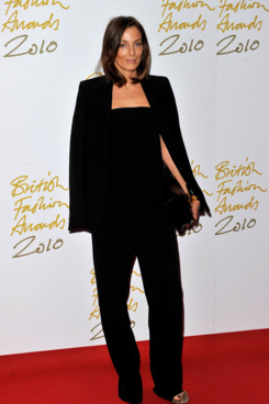 LONDON, ENGLAND - DECEMBER 07:  Phoebe Philo attends the British Fashion Awards at The Savoy on December 7, 2010 in London, England.  (Photo by Gareth Cattermole/Getty Images) *** Local Caption *** Phoebe Philo