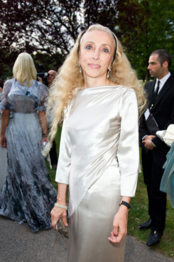 CRESPIERES, FRANCE - JULY 06: Franca Sozzani attends 'The White Fairy Tale Love Ball' in Support Of 'The Naked Heart Foundation' at Chateau De Wideville on July 6, 2011 in Crespieres, France. (Photo by Victor Boyko/Getty Images)