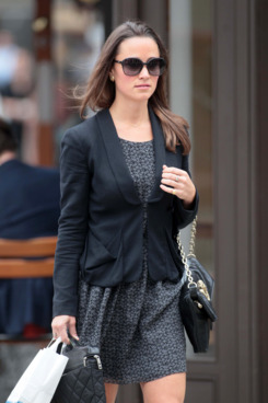 Pippa Middleton goes to work in Chelsea, London, UK. <P> Pictured: Pippa Middleton <P> <B>Ref: SPL299276  200711  </B><BR/> Picture by: Martin Karius / Splash News<BR/> </P><P> <B>Splash News and Pictures</B><BR/> Los Angeles:310-821-2666<BR/> New York:212-619-2666<BR/> London:870-934-2666<BR/> photodesk@splashnews.com<BR/> </P>
