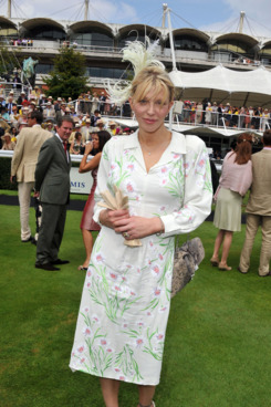 CHICHESTER, UNITED KINGDOM - JULY 28: Courtney Love attends Ladies Day at Goodwood on 28 July,2011 at Goodwood on July 28, 2011 in Chichester, England. (Photo by Jon Furniss/WireImage)