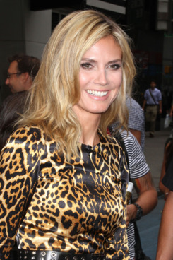Heidi Klum stops by ABC Studios for an appearance on 'Good Morning America' in NYC. <P> Pictured: Heidi Klum <P> <B>Ref: SPL300563  250711  </B><BR/> Picture by: Splash News<BR/> </P><P> <B>Splash News and Pictures</B><BR/> Los Angeles:310-821-2666<BR/> New York:212-619-2666<BR/> London:870-934-2666<BR/> photodesk@splashnews.com<BR/> </P>