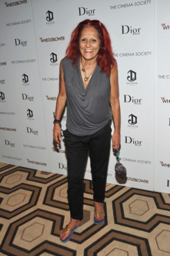 "NEW YORK, NY - JULY 27:  Designer Patricia Field attends a screening of ""The Whistleblower"" hosted by the Cinema Society & Dior Beauty with DeLeon at the Tribeca Grand Hotel on July 27, 2011 in New York City.  (Photo by Stephen Lovekin/Getty Images)"