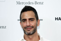 BERLIN, GERMANY - JULY 06:  Designer Marc Jacobs at the Designer for Tomorrow Show during Mercedes-Benz Fashion Week Berlin Spring/Summer 2012 at the Brandenburg Gate on July 6, 2011 in Berlin, Germany.  (Photo by Andreas Rentz/Getty Images for IMG)