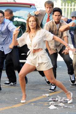 Jennifer Lopez was seen filming her music video 'Papi' in Downtown Los Angeles, California. <P> Pictured: Jennifer Lopez <P> <B>Ref: SPL308633  230811  </B><BR/> Picture by: MAP  / Splash News<BR/> </P><P> <B>Splash News and Pictures</B><BR/> Los Angeles:310-821-2666<BR/> New York:212-619-2666<BR/> London:870-934-2666<BR/> photodesk@splashnews.com<BR/> </P>
