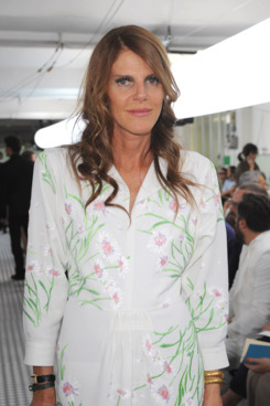 MILAN, ITALY - JUNE 19:  Anna Dello Russo attends the Moncler Gamme Bleu fashion show as part of Milan Fashion Week Menswear Spring/Summer 201 on June 19, 2011 in Milan, Italy.  (Photo by Tullio M. Puglia/Getty Images)