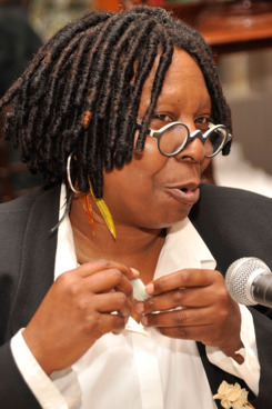 NEW YORK, NY - SEPTEMBER 08:  Whoopi Goldberg attends a roundtable discussion at Fashion's Night Out celebration at Bergdorf Goodman on September 8, 2011 in New York City.  (Photo by Gary Gershoff/Getty Images for Bergdorf Goodman)