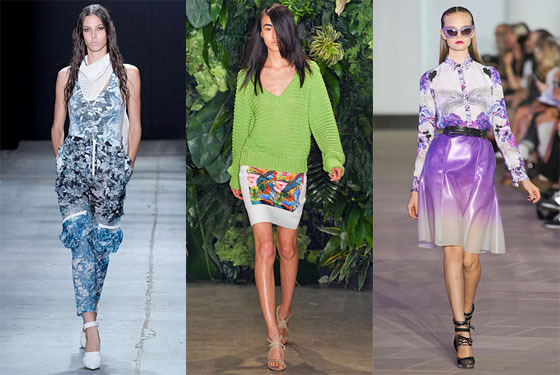 Looks from Alexander Wang, Altuzarra, and Prabal Gurung