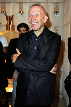 Jean Paul Gaultier attends Vogue Fashion Celebration 2011 in his Avenue George V boutique on September 8, 2011 in Paris, France.