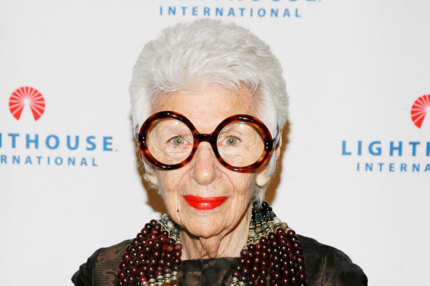 NEW YORK - OCTOBER 20: Iris B. Apfel attends the 2008 Lighthouse International Light Years Gala at Cipriani 42nd Street on October 20, 2008 in New York City.  (Photo by Joe Kohen/Getty Images)
