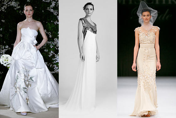 New Bridal Collections: Temperley, Carolina Herrera, Badgley Mischka, and More