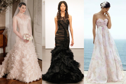 Just How Popular Are Colored Wedding Dresses? -- The Cut