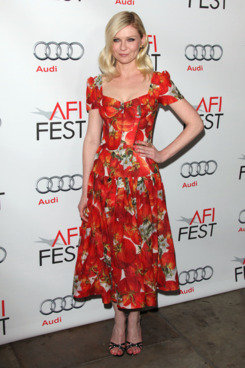 'Melancholia' Screening at the 2011 AFI Fest at the Egyptian Theatre, Los Angeles.<P>Pictured: Kirsten Dunst<P><B>Ref: SPL332807  061111  </B><BR/>Picture by: Jen Lowery / Splash News<BR/></P><P><B>Splash News and Pictures</B><BR/>Los Angeles:310-821-2666<BR/>New York:212-619-2666<BR/>London:870-934-2666<BR/>photodesk@splashnews.com<BR/></P>