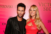 NEW YORK, NY - NOVEMBER 09:  Adam Levine of Maroon 5 and model Anne Vyalitsina attend the 2011 Victoria's Secret Fashion Show After Party at Dream Downtown on November 9, 2011 in New York City.  (Photo by Andy Kropa/Getty Images)