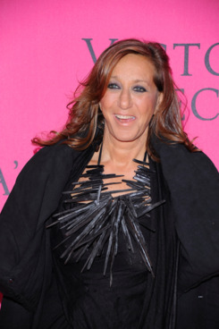 NEW YORK, NY - NOVEMBER 09:  Designer Donna Karan attends the 2011 Victoria's Secret Fashion Show at the Lexington Avenue Armory on November 9, 2011 in New York City.  (Photo by Andrew H. Walker/Getty Images)