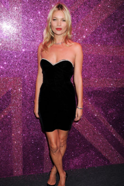 Kate Moss attends the Rimmel & Kate Moss Party to celebrate their 10 year partnership at Battersea Power station on September 15, 2011 in London, England.