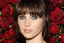 "NEW YORK, NY - NOVEMBER 15:  Felicity Jones attends the Museum of Modern Art's 4th Annual Film benefit ""A Tribute to Pedro Almodovar"" at the Museum of Modern Art on November 15, 2011 in New York City.  (Photo by Eugene Gologursky/WireImage)"