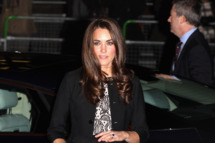 Catherine, Duchess of Cambridge and Prince William, Duke of Cambridge (not pictured) arrive for a Gary Barlow Concert at the Royal Albert Hall on December 6, 2011 in London, England.