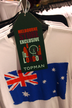 General views during the public opening of Australia's first Topshop-Topman retail location Australia in South Yarra.