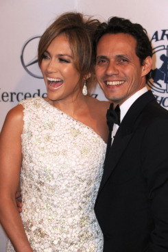 BEVERLY HILLS, CA - OCTOBER 23:  Singers Jennifer Lopez and Marc Anthony arrive at the 32nd Anniversary Carousel Of Hope Gala at the Beverly Hilton Hotel on October 23, 2010 in Beverly Hills, California.  (Photo by Frazer Harrison/Getty Images) *** Local Caption *** Jennifer Lopez;Marc Anthony