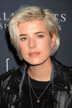 Agyness Deyn attends the AllSaints Spitalfields launch party for the Capsule Not For Sale T-Shirt Collection held at The Music Box @ Fonda on October 24, 2011 in Hollywood, California.