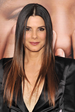 "Actress Sandra Bullock attends the ""Extremely Loud & Incredibly Close"" New York premiere at the Ziegfeld Theater on December 15, 2011."