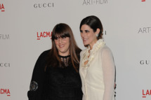Designers Kate Mulleavy (L) and Laura Mulleavy of Rodarte.