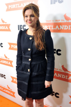 "Actress Amber Tamblyn attends the ""Portlandia"" season 2 premiere."