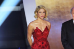 Shakira attends the Golden Ball 2010 FIFA Gala 2010 in Zurich, Switzerland. <P> Pictured: Shakira <B>Ref: SPL348854  090112  </B><BR/> Picture by: Splash News<BR/> </P><P> <B>Splash News and Pictures</B><BR/> Los Angeles:310-821-2666<BR/> New York:212-619-2666<BR/> London:870-934-2666<BR/> photodesk@splashnews.com<BR/> </P>