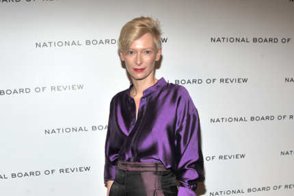 Tilda Swinton attends the 2011 National Board of Review Awards