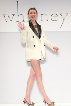 Whitney Eve Port walks the runway at the Whitney Eve Port show during the Gen Art 6th Annual Fresh Faces in Fashion Show at FASHIONmiami.