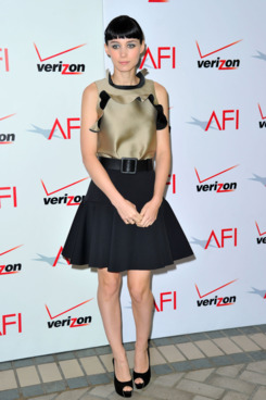 Actress Rooney Mara arrives at the 12th Annual AFI Awards held at the Four Seasons Hotel Los Angeles at Beverly Hills on January 13, 2012 in Beverly Hills, California.