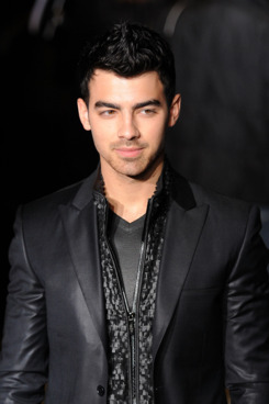 Joe Jonas attends the Calvin Klein Collection fashion show